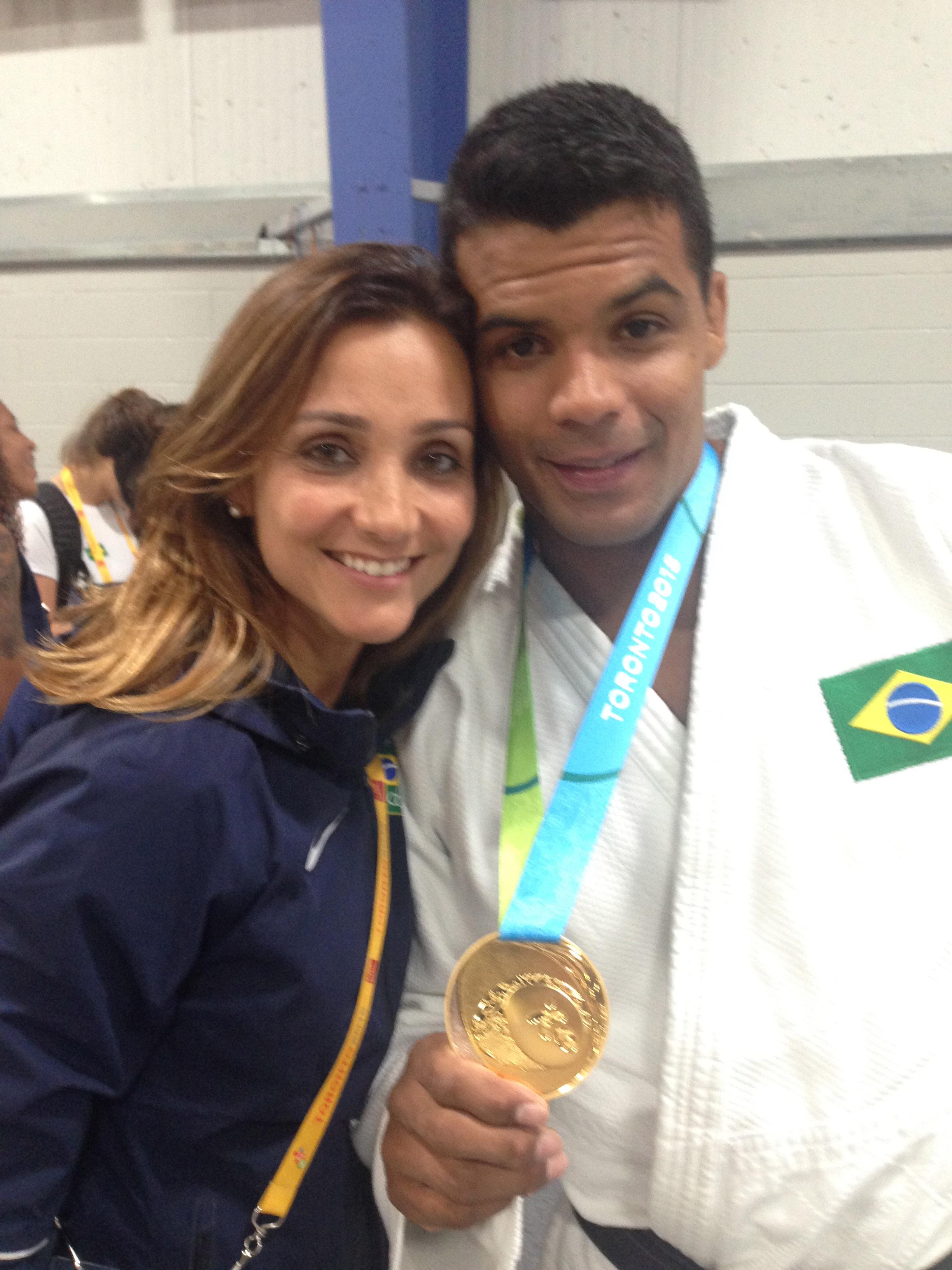 Roberta Lima e Luciano Corrêa