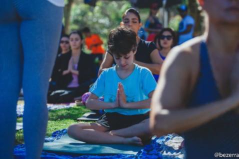 Programa Mais Yoga Por Favor - Foto Bruna Bezerra