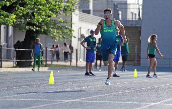 Atleta Alexander Russo - Seleção Brasileira de Atletismo